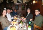 Teuta, Genti, Ernest, Luan, Eduard Kukan et Juraj Sevella
