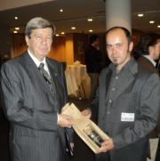 Eduard Kukan et Andrea Lo Iacono