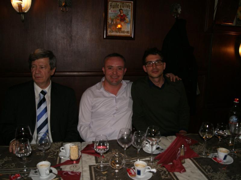 Eduard Kukan, Genti Metaj et Juraj Sevella