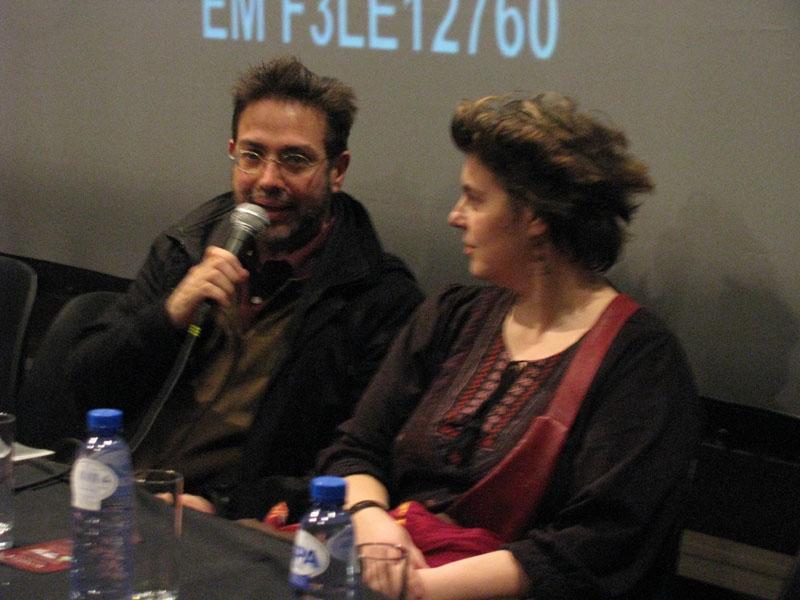 Nathalie Rossetti et Turi Finocchiaro