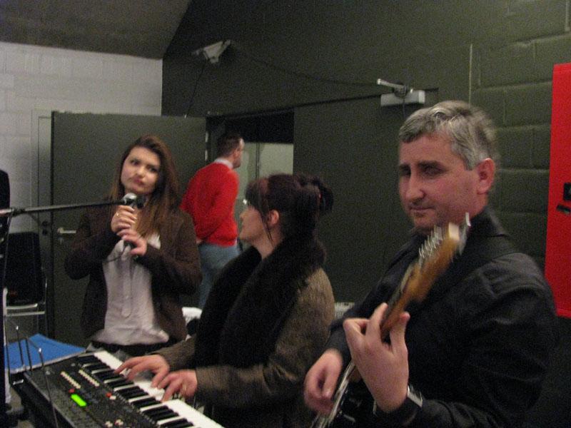 Redina Zusi, Alisa Aliu et Keli Koxhaj
